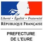 Logo de la Prefecture de l'Eure